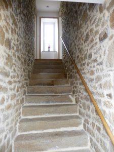 escalier gite